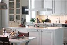 Kitchen | Keittiö / AX-Design Oy:n valmistamat keittiökalusteet. Kitchens made by AX-Design Oy.