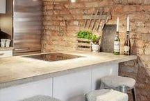 Ideas! Keittiön välitilat / Kitchen backsplash / Erilaisia vaihtoehtoja keittiön välitilaan, inspiroidu! Inspiration: Kitchen backsplash