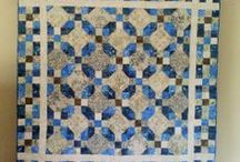 Nine Patch Quilts / Layout inspiration for the 9-patches I received as part of a block exchang