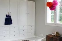 Closets | Säilytyskalusteet /  AX-Design Oy:n valmistamat säilytyskalusteet. Made by AX-Design Oy.
