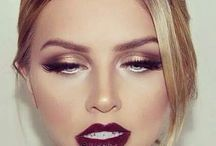 Make up looks. / Ideas and styles of make up. ❤️