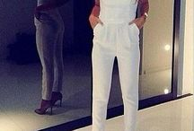 Jumpsuits / I love a good jumpsuit. Some great looks in this board.