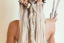Hair for festivals / Festival looks. Timeless looks