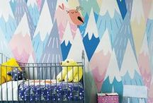Kids room / Things we love & are inspired by for Kids rooms