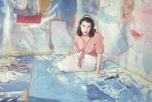 Ateliers / Beroemde en minder beroemde kunstenaars in hun atelier.