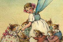 Flower fairies / Delicate flower fairies
