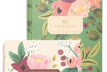 Stationery / Inspired by Rachel Jorgensen and my love for woodland and cuteness