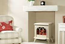Fireplaces and Mantelpiece ideas / Gorgeous fireplaces and electric fires.