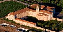 The Hotel / The Estate Abadía Retuerta LeDomaine is set like a jewel among the string of exclusive wine estates found along the Duero river. If the heart of the estate is the winery, its soul is the ancient 12th-century abbey, a beloved and carefully restored Spanish cultural heritage site.