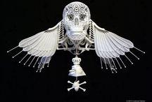 ____Skulls&Bones_____ / Sculls & bones in fashion   design   art