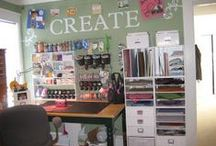 Home: ✄Craftrooms ♡ / ideas for craftroom design ;)