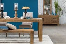 Salle à manger / Dining room / #interiors #home #diningroom #decoration #furniture