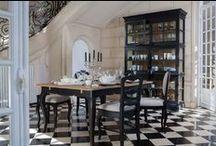 Noir & Blanc / Black & White / #decoration #black #white #interiors #interiorsfrance #home