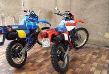 Enduro '80 moto retrò / Moto Enduro '80
