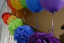 Pompon balon party