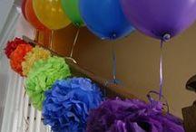 Pompon balon party