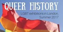 Queer travel & history / LGBTQ travel guides, queer history and exhibitions.