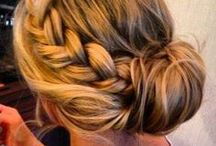 Bridesmaid Hair Styles / Or for the bride :D