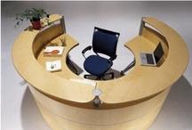 Reception Desk / Reception front desk, executive office desks, round meeting table, contemporary office furniture, commercial !! Reception front desk l executive office desks l round meeting table