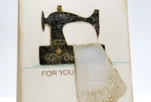 Cards: Sewing Examples / by Camano Art Cards