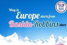 Fly to Europe with Baskin-Robbins! :D