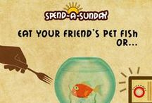 Spend-A-Sunday / Baskin-Robbin's suggestions on how to spend a Sunday!