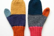 Митенки-Варежки-Перчатки... и пр. наручники / fingerless gloves mittens...      and other handcuffs