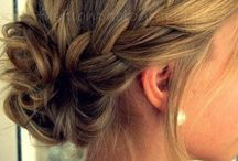 Work hair / Up do's