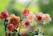 Crochet Flowers / вязание крючком, рукоделие...