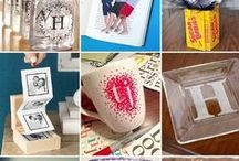 DIY gift ideas / small craft prpjects