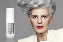 TURN GREY INTO GORGEOUS / The new GREY SERVICE COLLECTION by GOLDWELL. Turn your grey hair into gorgeous. Just add your hairdresser!