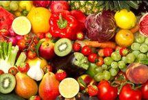 Frutas, hortalizas (verduras) y frutos secos
