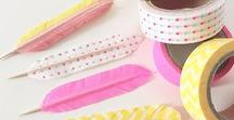 || WASHI TAPE / Washi tape is like, making all of the boring stuff happy and I think that's the best ever.