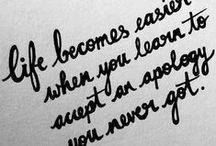 Inspirational / Words of wisdom...