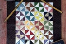 HST Blocks & Quilts / HST is short for Half Square Triangles. You'll find some inspiration for blocks and quilts using HSTs along with some tips and techniques.