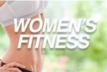 Women's Fitness / Hey girl!  Looking to lose weight? Tone up that body? Bring out your natural beauty?  Well it looks like you're in the right place!