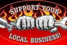 Support your local business! T-Shirts / T-shirts for mechanics and sprayers