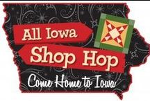 All Iowa Shop Hop / Inspiration from the AISH