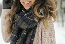 || AUTUMN WARDROBE / Love those cozy and pretty outfits.