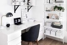 Arbeitsplatz Inspiration  |  Working Place Inspiration
