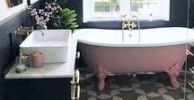 Inspo | Bathroom / Home decor inspiration for your bathroom redecoration or renovation project