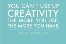 Art quotes / Because sometimes it is nice to hear why art and creativity are so influential.