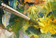 art notes | learning about art and art supplies