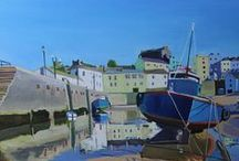 Emma Cownie - Landscapes & Seascapes / Award-winning and best-selling contemporary realist artist. Based in Swansea, South Wales. Specialising in oil paintings of Swansea and the Gower Peninsula.