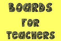 Pinterest Boards for Teachers / by The Teacher Treasury
