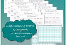 Math Resources for Homeschoolers / Ideas, activities, resources, freebies for teaching math in your homeschool.
