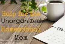 Homeschool Organization and Planning