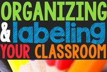 Organization Shenanigans / Organizational tips for teachers and students that have been created by Ashley Schroeder from Schroeder Shenanigans in 2nd