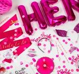 - pink hen party theme - / pretty in pink hen parties are the best...