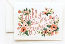 - will you be my bridesmaid? - / asking your BFFs to be your bridesmaids should be special...